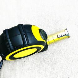 ABS+TPR heavy duty rubber measure tape steel measuring tape
