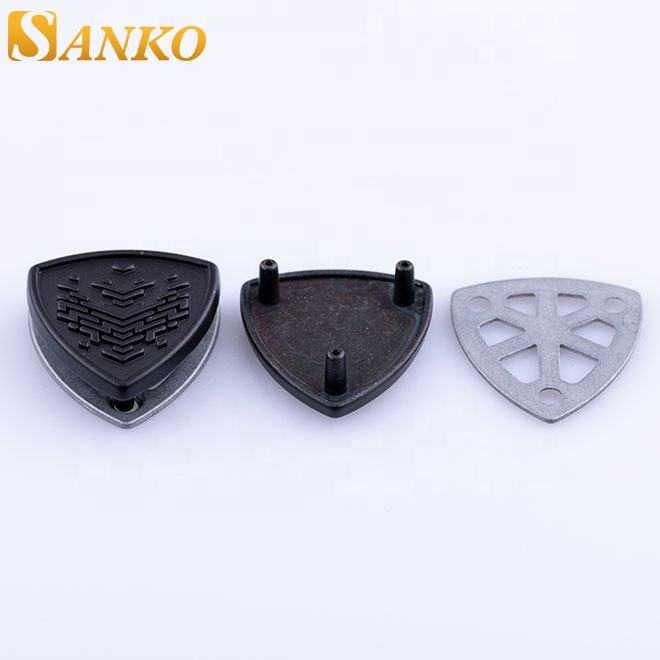 Sanko custom german style sew-on military metal badge for clothing