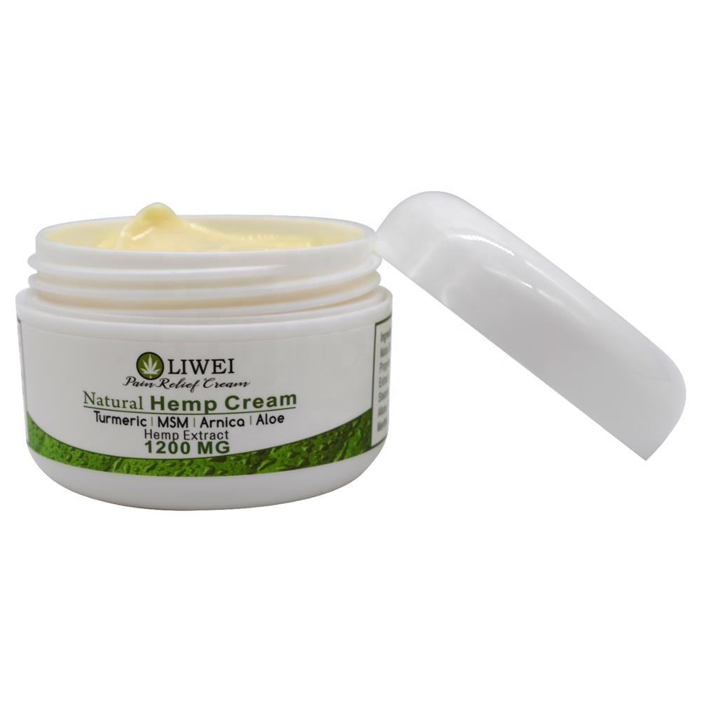 Private Label Pain Relief Cooling Warming CBD Massage Hemp Cream
