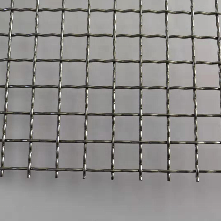 1.6x10mm Stainless Steel Corrugated Mesh Grid For Screening