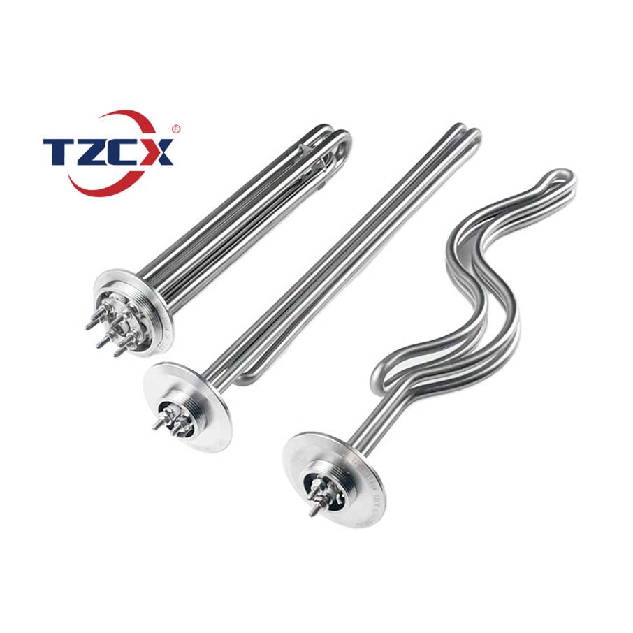 CE certified TZCX brand customized stainless steel electric tri clamp brewing heating element for distillery