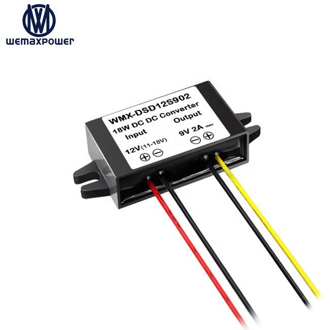 Hot-Verkoop Auto Vrachtwagen Router Voltage Step Down <span class=keywords><strong>Converters</strong></span> 2a 18 W 12 V Naar 9 V Dc Dc converter