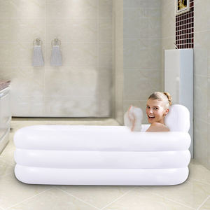 2020 China Spa Pool Hot Sale Pvc Portable 1 person bubble single adult inflatable hot tub spa
