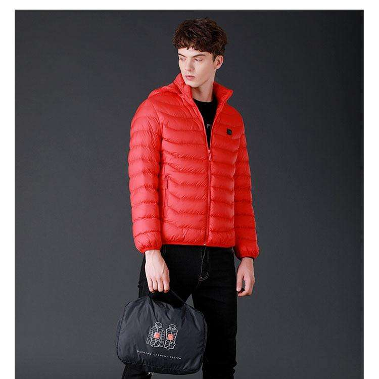 Well Designed men sleeveless winter jacket skiing ski jackets intelligent controller