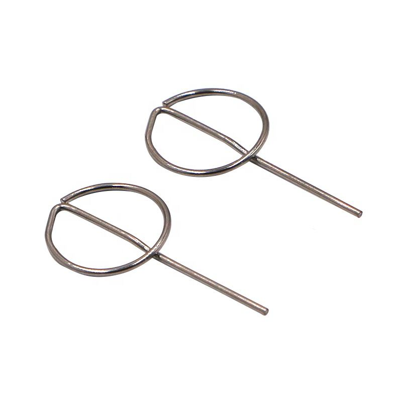 Poding OEM Stainless Steel Sim Card Pin For Picking SIM Mobile Phone Sim Card Ejector Pin Factory Outlets Card Needle PD-SCP-03