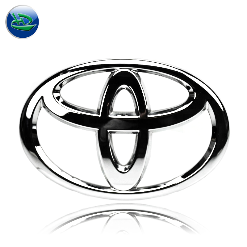 Cheap wholesale Custom ABS car badges and Chrome Electroplating auto car emblems,Customized emblems car badge logo sticker