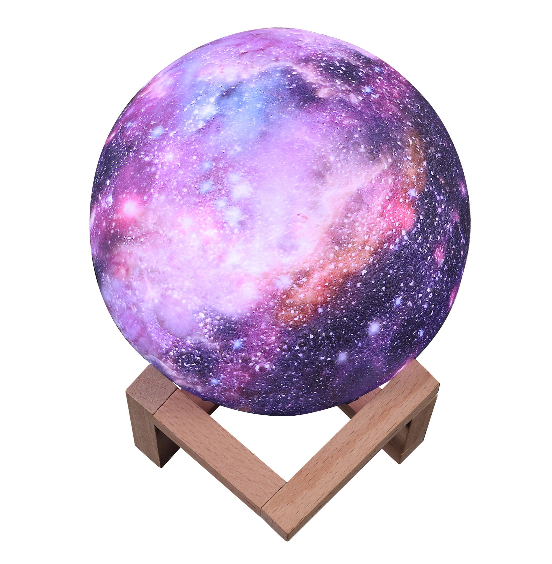 3D Printing Moon Lamp Galaxy Moon Light Kids Night Light 16 Color Change Touch and Remote Control Galaxy Light