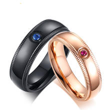 Wholesale Fashion  Couple Wedding  Rings Jewelry  Gifts for Valentine's Day .