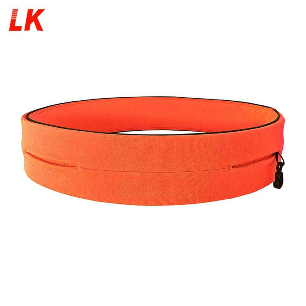 2020 Wholesale Colorful Cheap Outdoor 5k Sport Running Belt Waist Bag With Custom Logo