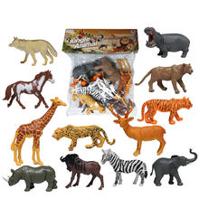 Various shape Kids wild plastic animals toys animal for sale