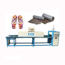 4.5 M 2D printing production line with oven slipper sole transfer printing machine