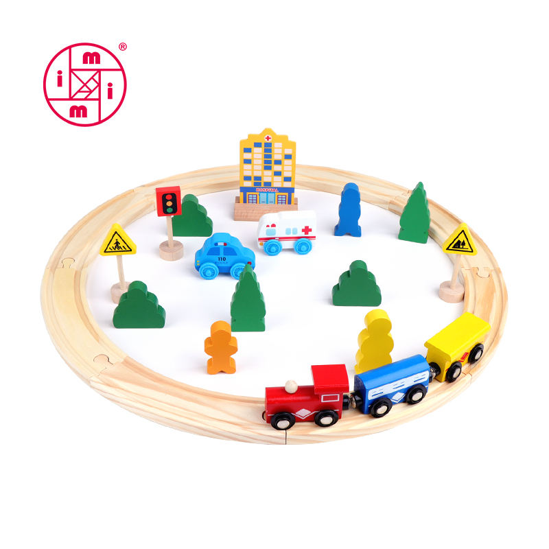 26pcs holz zug track serie spielzeug für <span class=keywords><strong>kinder</strong></span>
