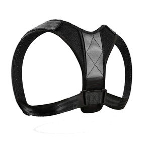Sports adjustable neoprene shoulder posture corrector upper back brace support
