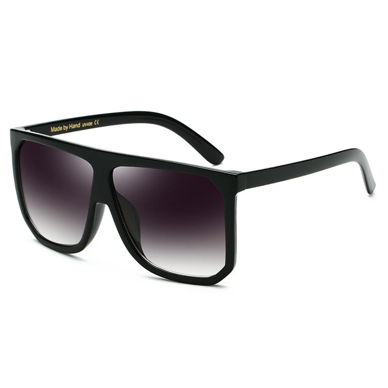 Oversize frame unisex black frame classic hot selling USA fashion sunglasses 2020 new arrivals