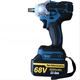Hot sale 68V rechargeable industry lithium electric wrench cordless impact wrench