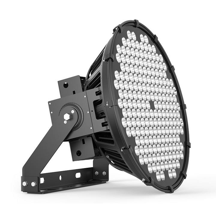ETL 1000W LED flood light 0-10V dimmable IP66 Waterproof Outdoor Floodlights for huge tower