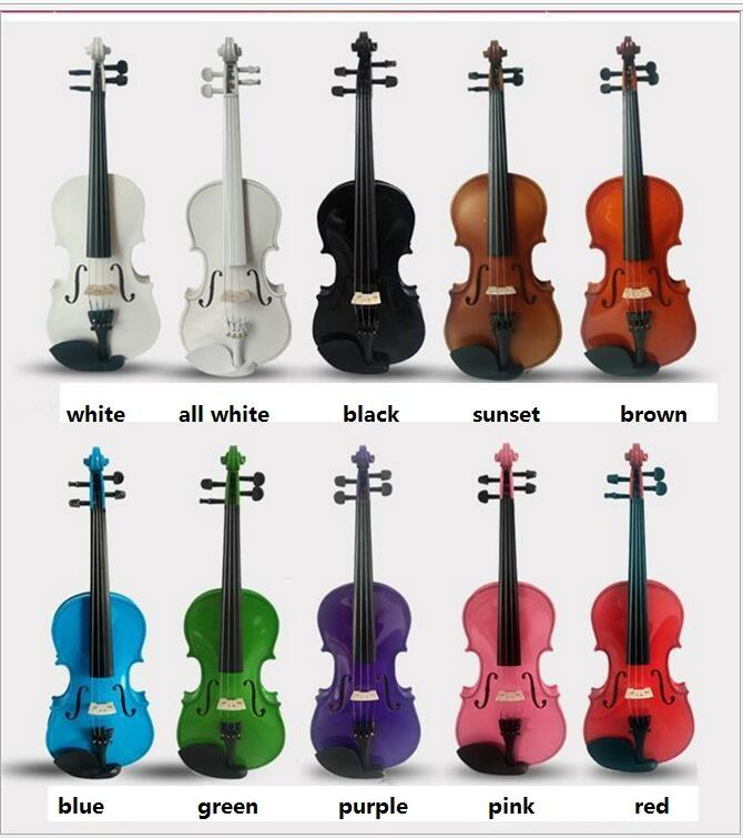 Excellent quality violin size 4/4, 3/4, 1/2 , 1/4, 1/8 mini violin
