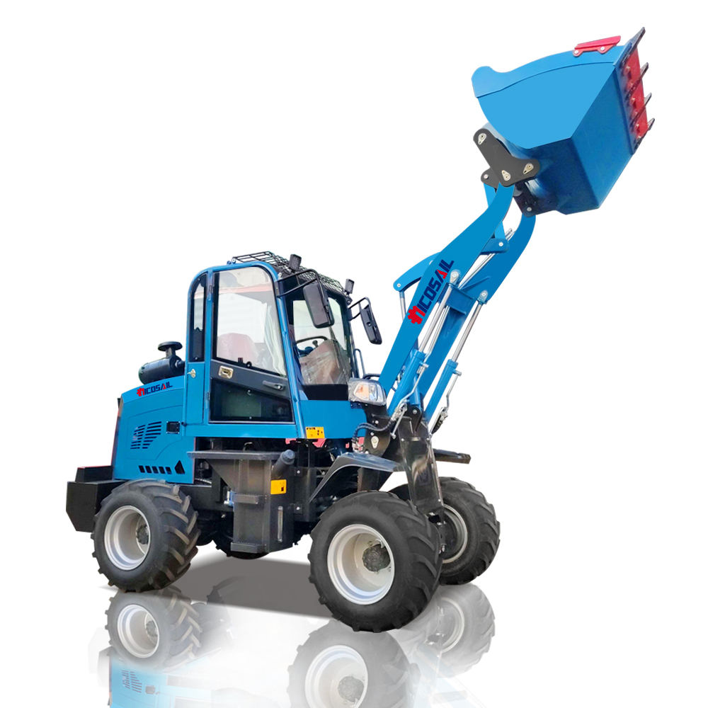 Cheap Price high quality Mini wheel ZL906 910 loader 800 kg 1000 kg for exporting wheel loader price list