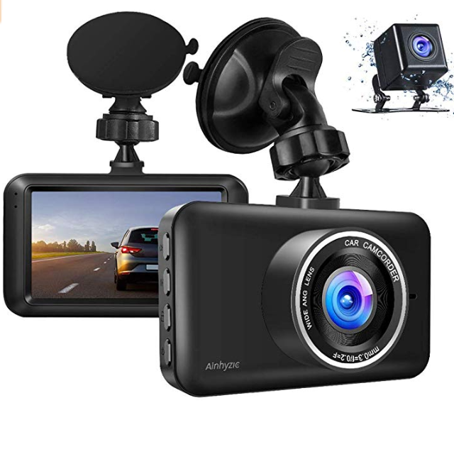 Factory Direct Sale Car Black Box Night Vision Dual Lens Dash Cam 1080P FHD Car DVR 3インチLCD Screen Driving Recorder