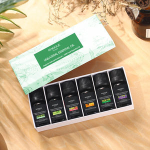 Private Label Best Aromatherapy 9 Formulas Therapeutic Grade Organic Wholesale Essential Oil Set