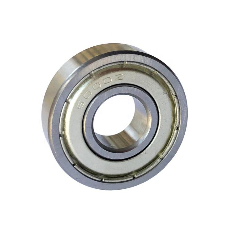 China Manufacturer 6000 zz C3 Sealed Bearing High Speed Deep Groove Ball Bearing 6000 2z Series