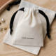 Jewelry Bags PandaSew 8*10 Cm Beige Medium Cotton Canvas Drawstring Pouch Gift Jewelry Packaging Bags