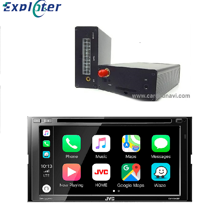 High quality Special CarPlay Mirror link Android Auto Box For-JVC DVD Player