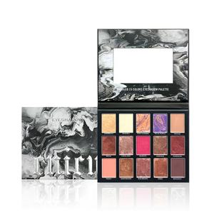 New Custom Eyeshadow Palette OEM ODM Cruelty Free Beautiful Packaging For Makeup Cosmetics