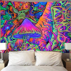 Nordic Ins psychedelic background cloth background wall deco