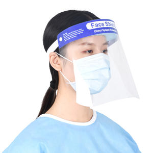 Anti Fog Face Shield Transparent Safety Face Shield Visors Protective Face Cover