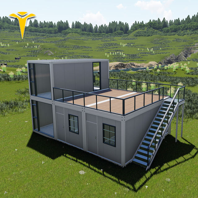 expandable flat pack container homes 20ft cheap container house made in China can been mobile
