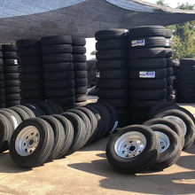 Spare trailer tire wheel for boat trailer
