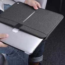 Nillkin soft lining with magnetic closure US military shock and impact resistant computer sleeve cover laptop bag for macbook