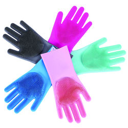 Eco-friendly Full Finger Waterproof Kitchen Cleaning Silicon