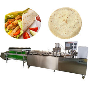 Automatic Pita Bread Flour tortilla taco roti chapati making machine