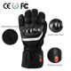 Carbon fiber knuckle protector lithium battery heating Motorcycling and Ski heating gloves