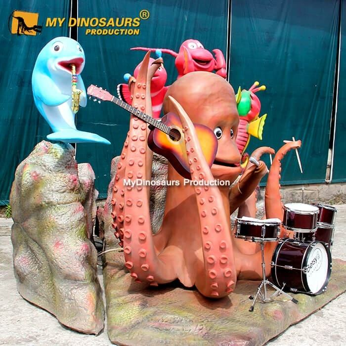 MyDino Breezy Octopus Bandขนาดใหญ่ใช้Electronics
