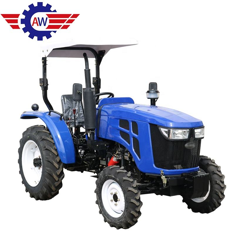 Cheap farm tractor 50hp farm 4wd traktor 4x4 trailer mini 45ph agricultural tractor 50ph farming tractor