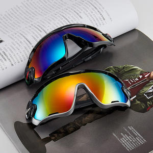 NEW MATERIAL UV400 ultraviolet-proof wide mirror Wholesale durable outdoor sports sunglasses