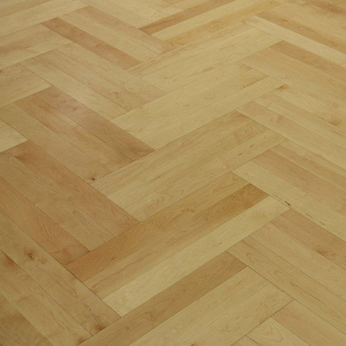 Timelessly Stylish Indoor Deco Maple Wood Timber Herringbone Floor Boards
