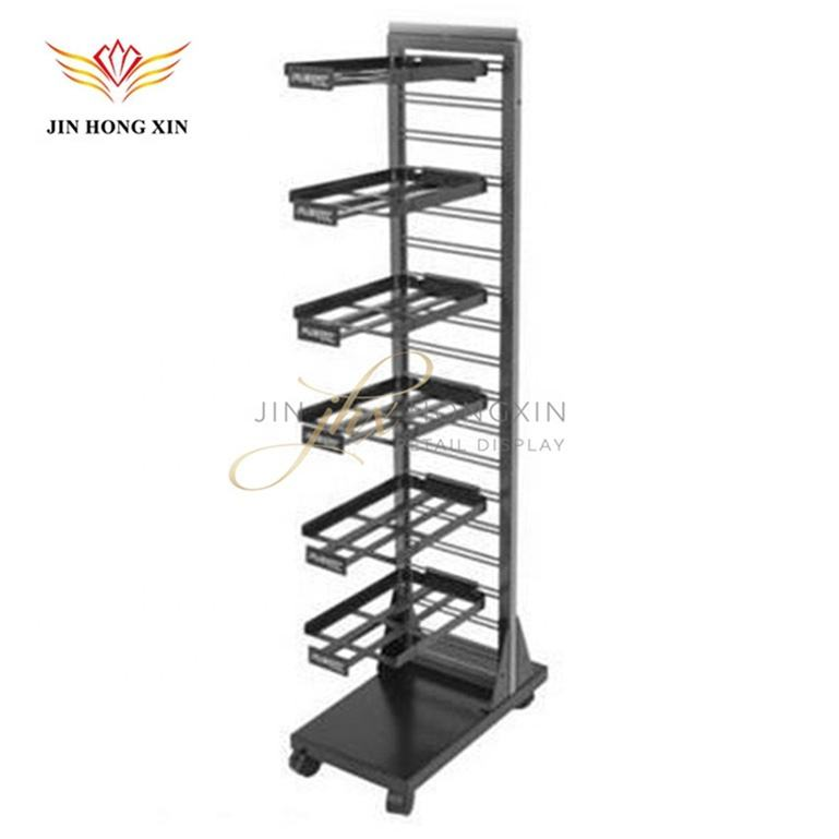 New Design Unique Style Retail Metal Hat Display Rack Hanger For Easy Assembly