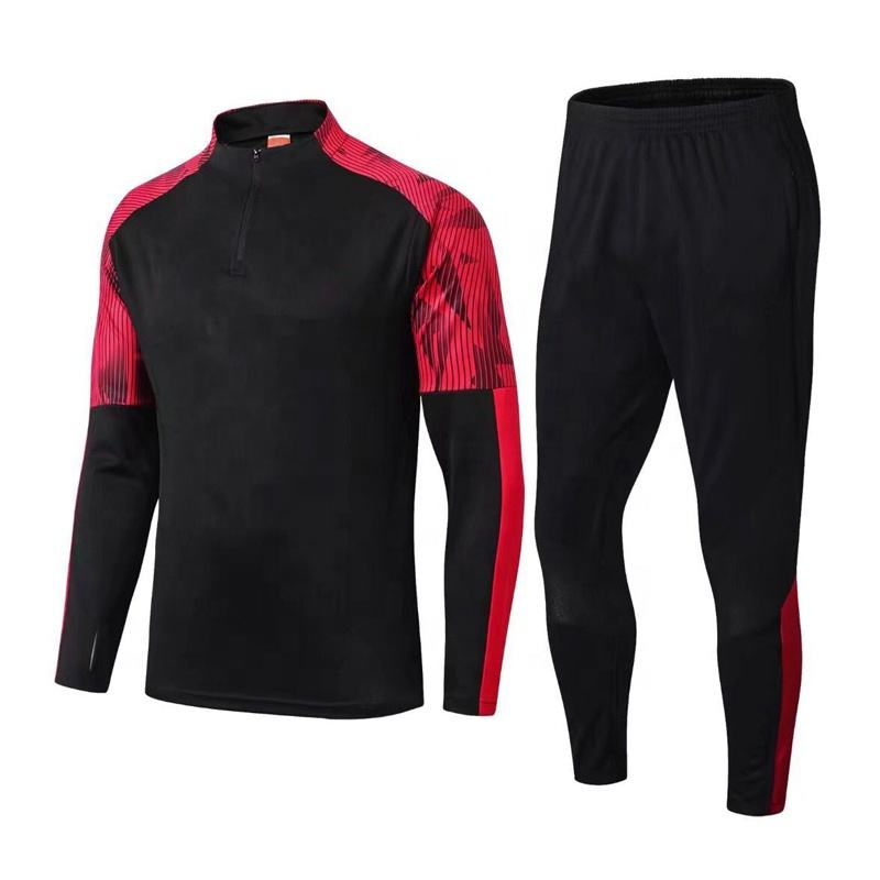 Top Quality Sportswear Running Long Sleeve Pants Training Suit Soccer