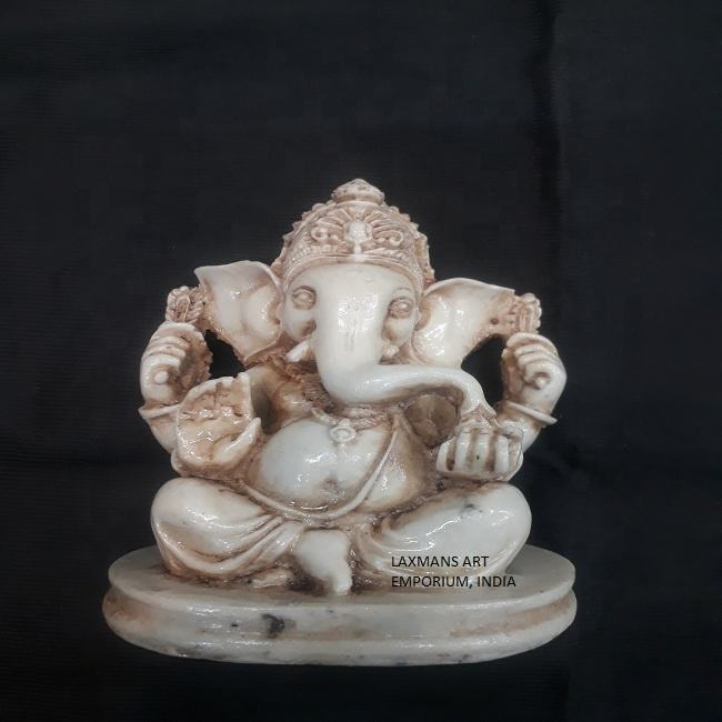 polyresin made indian ganesh gods statues