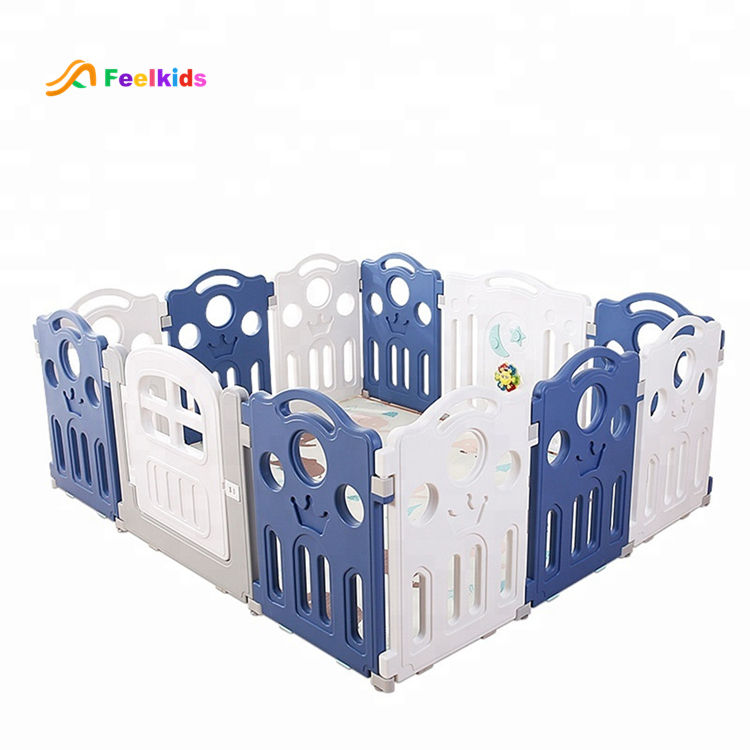 Baby luxury fence plastic kids toys safety playpen for children