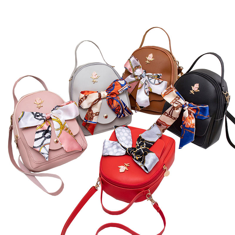 Mini Women Backpack Small Teenage Girls Book Bag Female Phone Pouch Shoulder Bags PU Leather Backpack