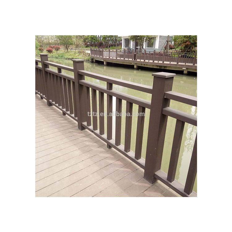 Attractive price new type balustrade outdoor WPC handrail