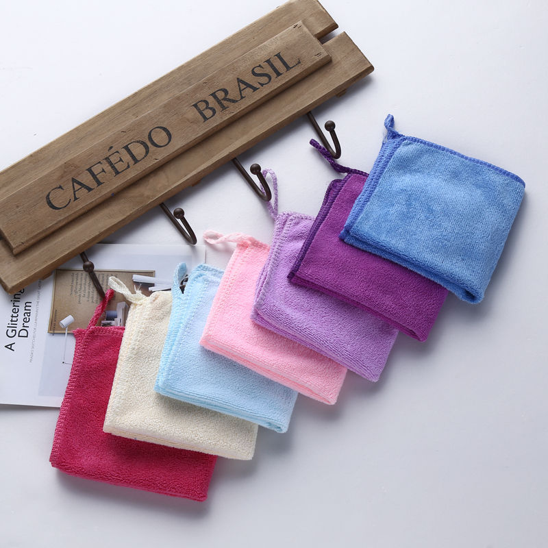 View larger image China wholesale microfiber cleaning hand towels, sew edge , edgeless all working car cleaning towels set