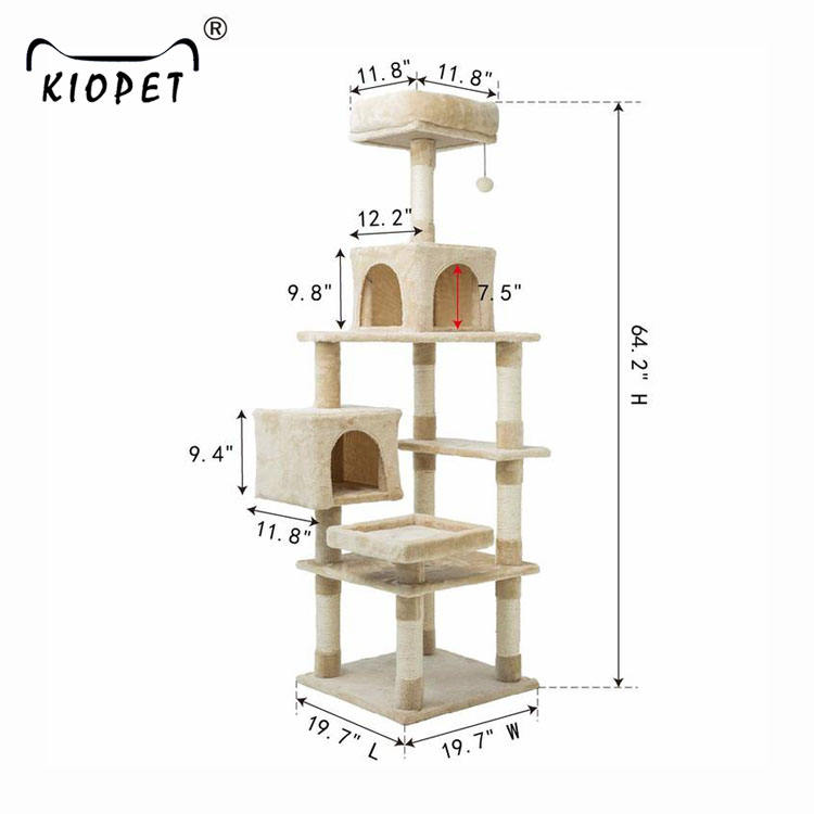 High quality wholesale diy cat tree chinese cheap houses