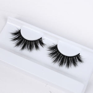 False eyelash wholesale custom logo candy red cherry eyelashes 3d wimpers 100% handmade mink fur wimpern full strip lashes