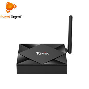 2020 Newest Android 10.0 Allwinner H616 4GB Dual Band Wifi IPTV Smart Android Tv Box 4K 8K Tanix TX6S
